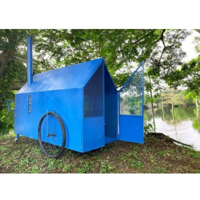 *** un studio de design mexicain invente une Tiny House destinée aux sans-abris !